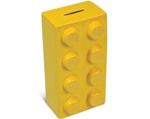 Mattoncino salvadanaio, uno dei gadget ufficiali LEGO®