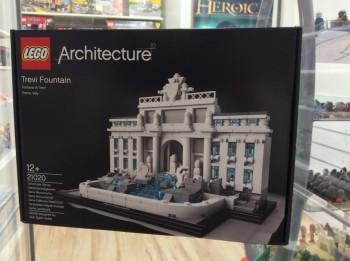 La Fontana di Trevi, ultima arrivata nella serie Architecture™