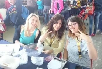 Da sinistra: Tanya, Laura e Carolina