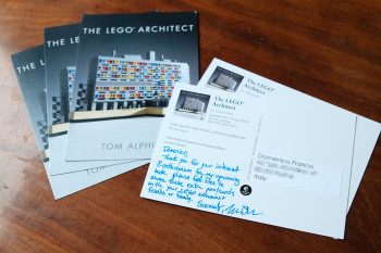 The LEGO architect - postacrds