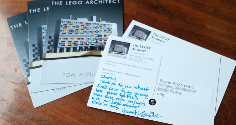 The LEGO architect - postcards